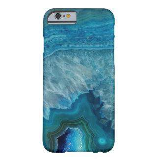 Caja azul hermosa del iPhone 6 de la gema Funda Para iPhone 6 Barely There