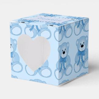 Caja azul linda del favor del corazón del modelo caja para regalos