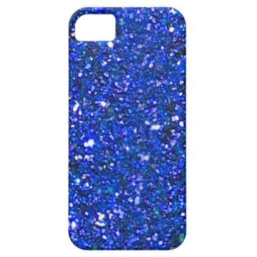 Caja azul magnífica del iPhone 5 del brillo de la  iPhone 5 Cárcasas