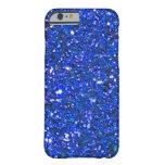 Caja azul magnífica del iPhone 6 del brillo de la
