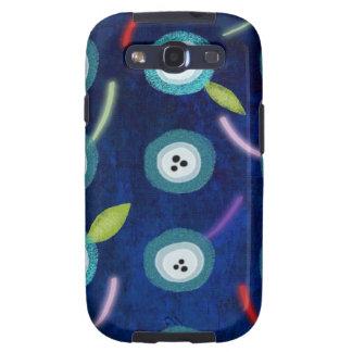 Caja azul marino de la galaxia de Samsung de las a Samsung Galaxy S3 Cárcasas