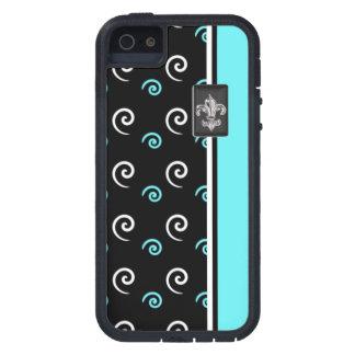 Caja azul moderna del iPhone del diseño del iPhone 5 Carcasas