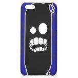Caja (azul) negra del iPhone del germen
