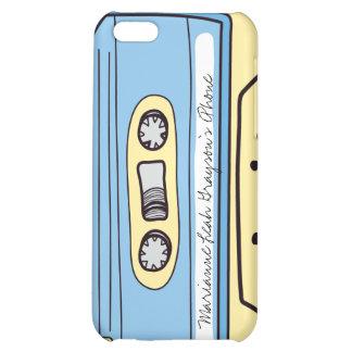 Caja azul personalizada del iPhone 4 de la cinta d
