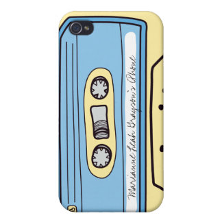Caja azul personalizada del iPhone 4 de la cinta d iPhone 4 Coberturas