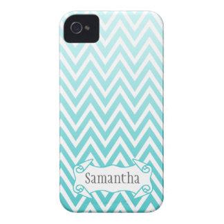 Caja azul personalizada del iphone 4 del galón del iPhone 4 Case-Mate protector