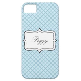 Caja azul personalizada del iPhone 5 del fondo del iPhone 5 Protectores