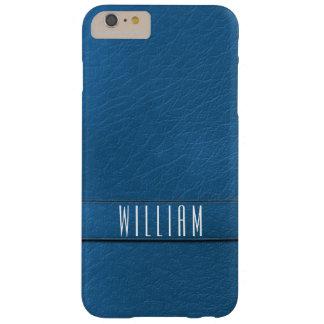 Caja azul personalizada del teléfono de la funda de iPhone 6 plus barely there