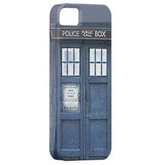 Caja azul pública del iPhone 5 de la caja de iPhone 5 Funda