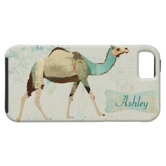 Caja azul soñadora del iPhone del camello iPhone 5 Fundas
