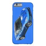 Caja azul supersónica del iPhone 6 del Corvette Funda Para iPhone 6 Barely There