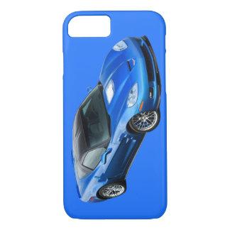 Caja azul supersónica del iPhone 7 del Corvette Funda iPhone 7