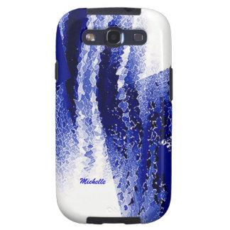 Caja azul y blanca de la galaxia s3 de Samsung Galaxy S3 Cobertura