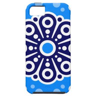 Caja azul y blanca de la MOD del iPhone 5 del Funda Para iPhone 5 Tough