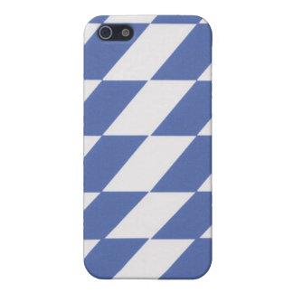 Caja azul y blanca del iPhone 4/4s iPhone 5 Carcasa