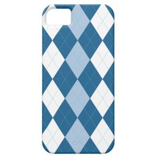 Caja azul y blanca del iPhone 5 de Arglye iPhone 5 Cobertura