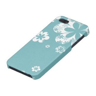 Caja azul y blanca elegante lamentable del iPhone iPhone 5 Funda