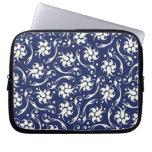 Caja azul y poner crema del ordenador portátil de  funda portátil