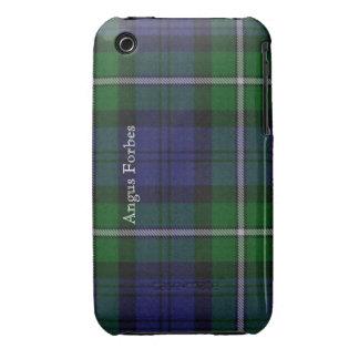 Caja azul y verde del iPhone 3G de la tela iPhone 3 Case-Mate Cárcasa