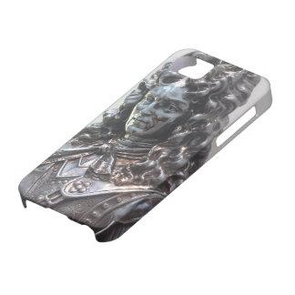 Caja barroca de la estatua del hierro funda para iPhone SE/5/5s