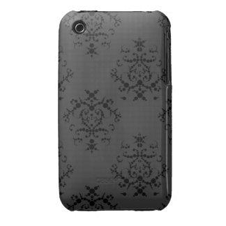 Caja barroca negra del iPhone 3/3GS iPhone 3 Case-Mate Coberturas