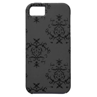 Caja barroca negra del iPhone 5 iPhone 5 Carcasas