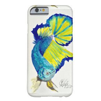 Caja beta del teléfono de los pescados del funda barely there iPhone 6