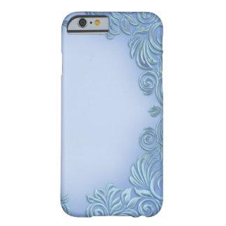 Caja Bígaro-De color de malva de IPhone de la hoja Funda De iPhone 6 Barely There