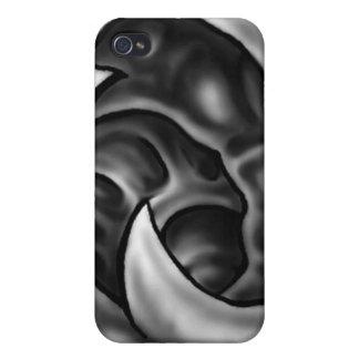 Caja biomecánica orgánica del teléfono de I iPhone 4/4S Carcasas