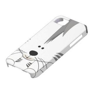 Caja blanca de Barely There del iPhone 5 de Cub de Funda Para iPhone SE/5/5s