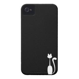 Caja blanca de Iphone 4/4S Barely There del gato Case-Mate iPhone 4 Funda