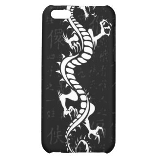Caja blanca de la mota del iPhone 4 4S del dragón