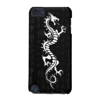 Caja blanca de la mota del tacto de iPod del dragó