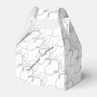 Caja blanca del favor del aguilón de los caja para regalo de boda
