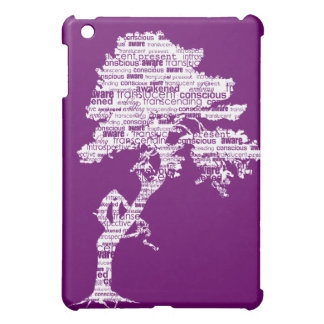 Caja blanca del iPad de la mota del árbol de Bodhi