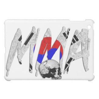 Caja blanca del iPad del cráneo del Muttahida