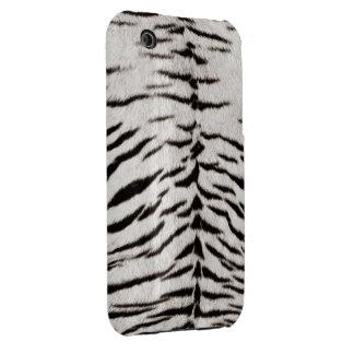 Caja blanca del iPhone 3G/3GS de la impresión de Case-Mate iPhone 3 Protector