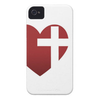 Caja blanca del iPhone 4 de la iglesia del rescate Case-Mate iPhone 4 Cárcasas