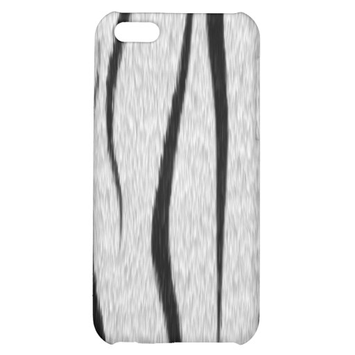 Caja blanca del iPhone 4 de la piel del tigre