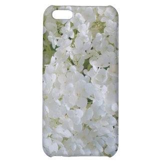 Caja blanca del iPhone 4 de los Hydrangeas