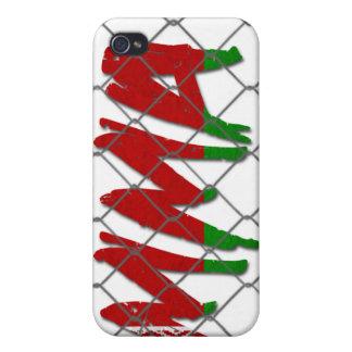 Caja blanca del iphone 4g del Muttahida iPhone 4/4S Carcasa