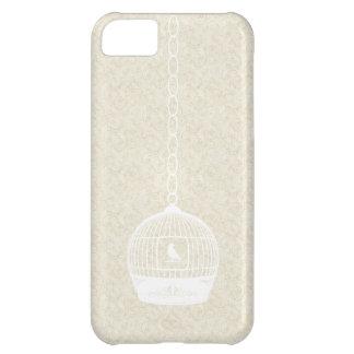 Caja blanca del iPhone 5 de la cubierta del caso d
