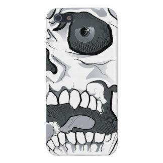 Caja blanca del iPhone 5 del cráneo iPhone 5 Carcasa