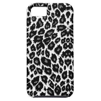 Caja blanca del iPhone 5 del diseño del leopardo iPhone 5 Funda