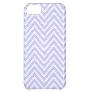 Caja blanca del iPhone 5 del zigzag de Chevron de