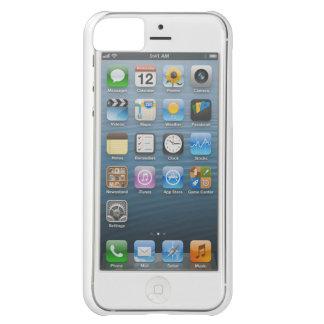 Caja blanca del iPhone 5 Funda iPhone 5C