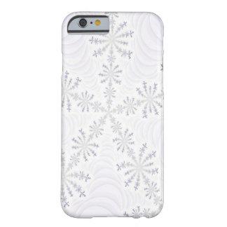 Caja blanca del iPhone 6 del fractal del copo de Funda Para iPhone 6 Barely There