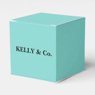 Caja blanca inspirada del caramelo del favor del cajas para regalos