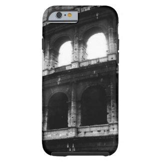 Caja blanca negra del iPhone 6 del imperio romano Funda Para iPhone 6 Tough