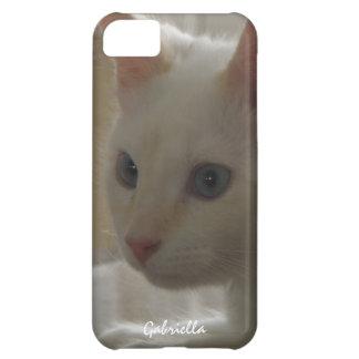 Caja blanca personalizada del gatito